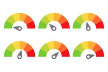 Scale Meter Score Level Icon F...
