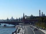 Fototapeta Londyn - Улицы Москвы