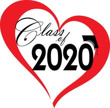Class Of 2020 Heart