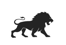Lion Icon. Vector Image For Em...