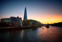 City Of London And Shard Of Gl...