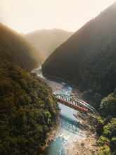 The Sagano Scenic Railway