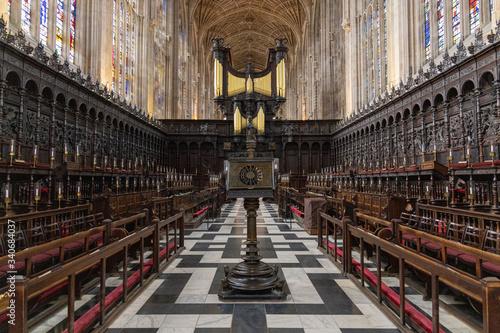 King's College Chapel in Cambridge UK Fototapete