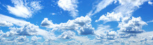 Blue Sky With White Clouds In ...