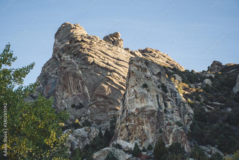 Fototapeta rocky mountain landscape