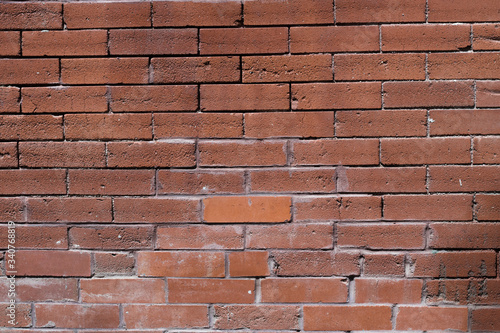Brick Wall Red Texture Pattern Old Architecture