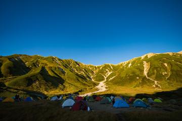 立山 キャンプ