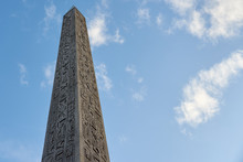 The Luxor Obelisk Or Egyptian ...