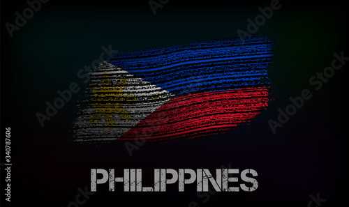 Flag of the Philippines Canvas Print