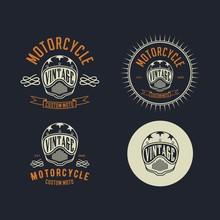 Motorcycle Costum Vintage Logo...