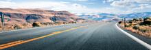 Long Road Through Desert, Empt...