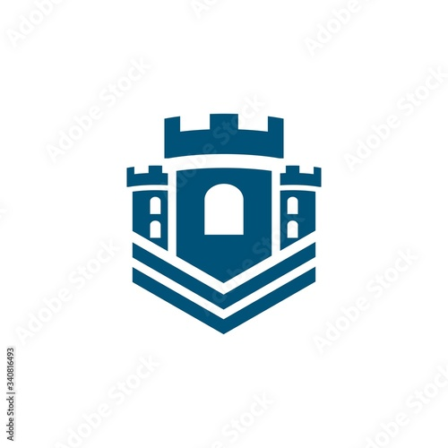 Castle vector illustration icon Fototapeta