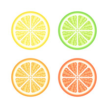Half Slice Assorted Citrus Fru...