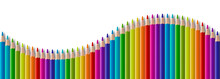 Set Of Color Wooden Pencil In ...