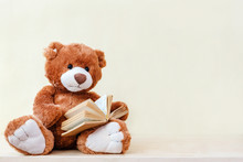 Stuffed Toy Teddy Bear Read An...