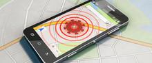 Smartphone Mit Coronavirus-Tra...