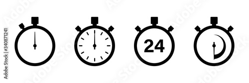 Photo Timers icon on white background