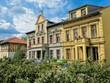 berlin, deutschland - sanierte alte häuser in friedrichshagen