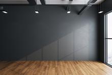 Imalistic Hall Interior With E...