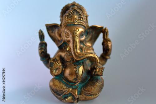 Obraz na plátně hindu god ganesh
