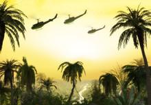 Vietnam War - Helicopter Forma...