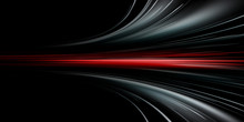 Gray And Red Speed Abstract T...