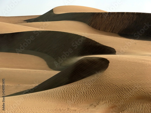 Photo Full Frame Shot Of Sand Dune In Desert