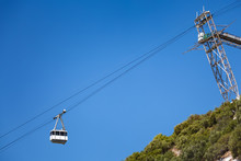 Cable Car Cabin On Gibraltar