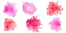 Watercolor Pink Background, Pa...