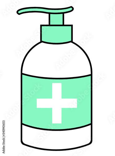 Photo Gel hydro-alcoolique