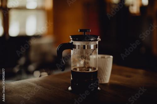 Photo Se réveiller et prendre son café