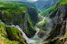 Vøringfossen Wasserfall In No...
