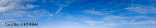 Fototapeta Blue sky background with clouds obraz