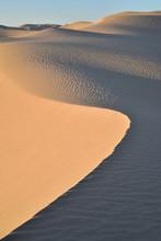 Sand Dune In A Desert