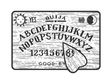 Ouija Spirit Talking Board Ske...