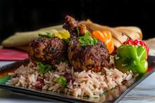 Jamaican Jerk Chicken Legs