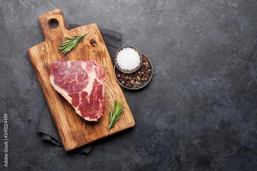 Tela Ribeye fresh raw beef steak