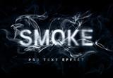 Smoke Text Effect Mockup - 341026689
