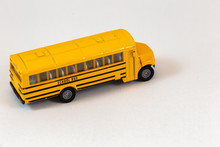 Right Side Of Yellow School Bus