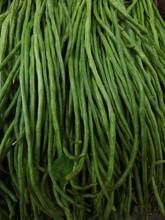 Full Frame Shot Of Fresh Green Yardlong Beans