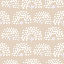 Floral Simple Seamless Pattern...