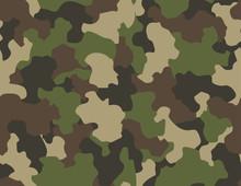 Camouflage Seamless Pattern. A...