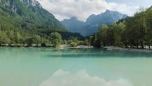 Beautiful Alpine Lake Jasna, S...