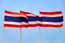 Three Of The Flag Of Thailand ...