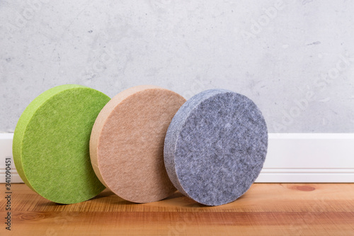 Acoustic panels for sound absorption Canvas Print