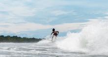Riding It At Playa Venao, Pedasi, Panama.