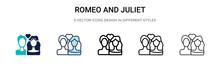 Romeo And Juliet Icon In Fille...