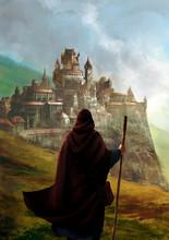 Illustration Fantasy D'un Magi...