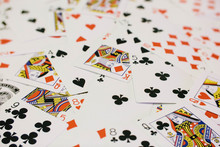 Full Frame Shot Of Playing Cards