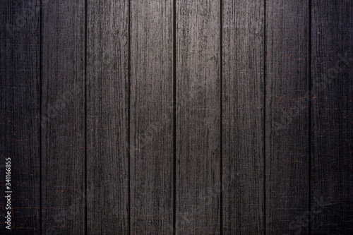 Fototapeta Dark wooden floor obraz na płótnie
